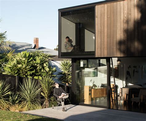 Architect Aaron Paterson discusses his dynamic courtyard home