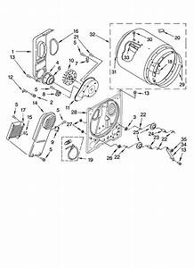 Inglis Model Ied4400vq1 Residential Dryer Genuine Parts