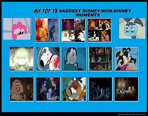 Top 13 Saddest Disney Non Disney Moments by ...