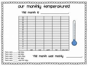 A Day In First Grade  Daily Weather  Free