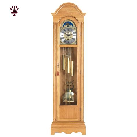 colonial floor plan billib cavendish grandfather clock light oak