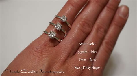 size 5 pinky finger cubic zirconia sterling silver 4