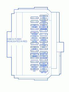 scion xb  engine fuse boxblock circuit breaker