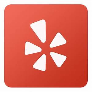 Yelp Icon - Flat Gradient Social Icons - SoftIcons.com