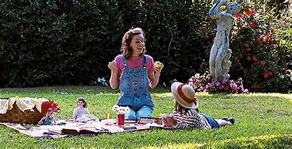 Honey Miss Matilda Picnic Blanket Movie Overalls