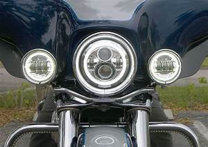 7 Inch Led Headlight Halo For Jeep Jk Lj Cj Lj Hummer