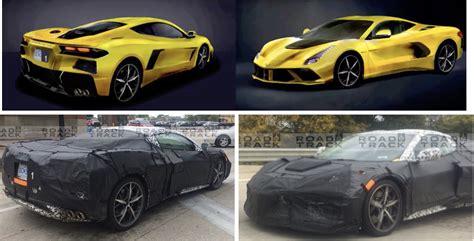 2020 Mid-engine Corvette Latest Rendering
