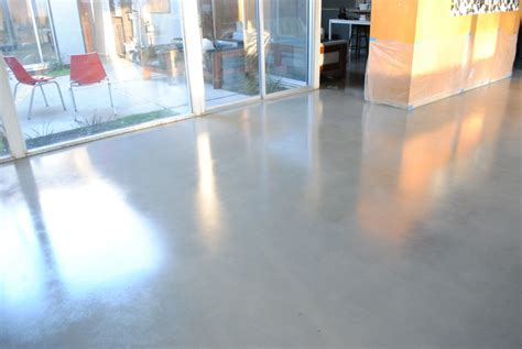 Modern Gray Painted Concrete Floor Designs Patio Ideas For
