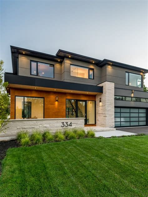 Best Contemporary Exterior Home Design Ideas & Remodel