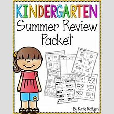 Kindergarten Summer Review Packet  Early Finishers, In The Classroom And Studentcentered Resources