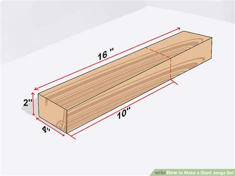 painting wood floors how to a jenga set 11 steps with pictures