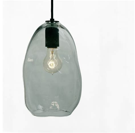 blown glass pendant light