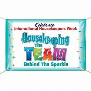 International Housekeepers Week Vinyl Banner Positive