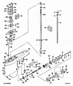 Mercury Force 125 H P  1987  Gear Housing