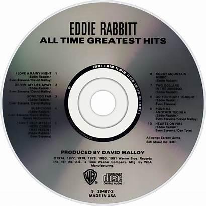 Eddie Rabbitt Hits Greatest Fanart Album Cd