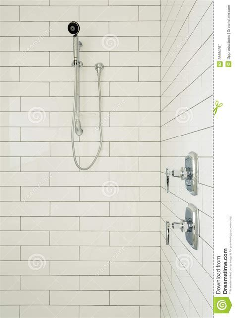 Master Bathroom Shower stock image. Image of interior