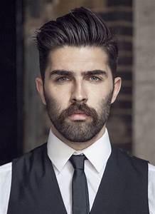 Dégradé Barbe Homme : coiffure homme d grad avec barbe ~ Melissatoandfro.com Idées de Décoration