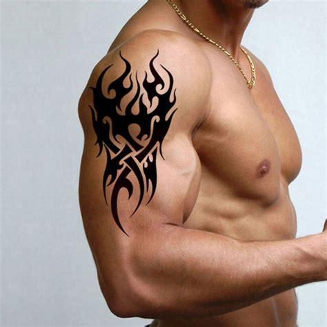 mens temporary tattoo tribal pattern tattoo sticker