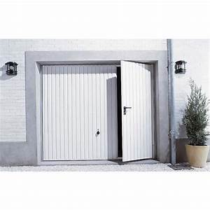 le portillon de garage un acces libre et rapide With porte de garage enroulable avec leroy merlin porte pvc