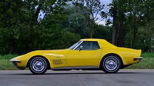 Sunflower Yellow 1972 Chevrolet Corvette