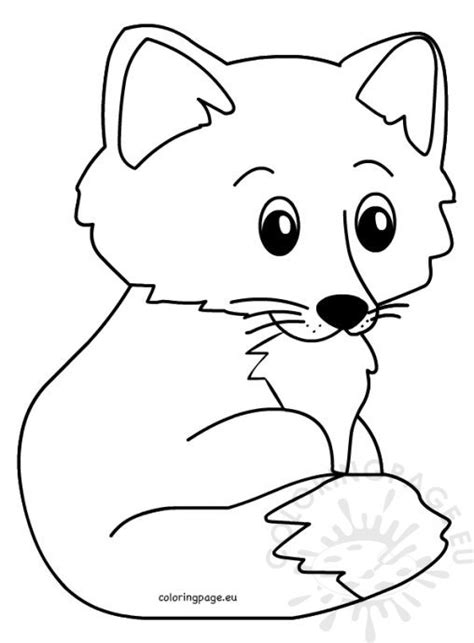 baby fox coloring pages baby fox pages coloring pages