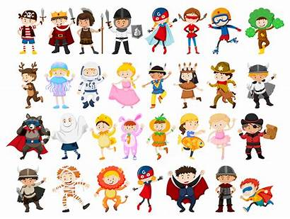 Character Play Roll Vector Clipart Illustration Graphics