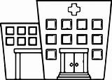 Hospital Coloring Printable Pages Template Printables sketch template