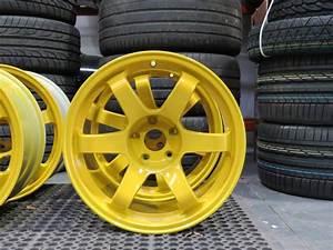 Rota Grid Drift Canary Yellow Alloy Wheel Customisation By