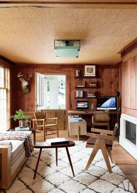 add warmth   room  light wood paneling