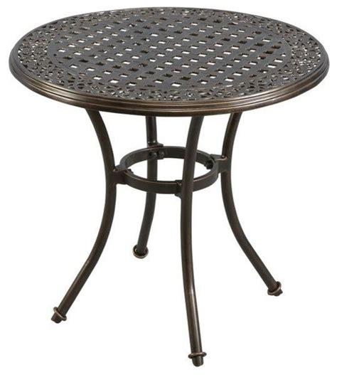 hton bay tables niles park 30 in cast top patio