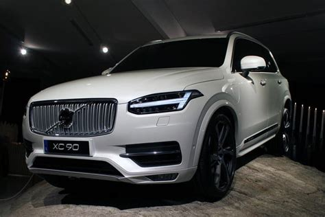 volvo xc official specs tech  pictures