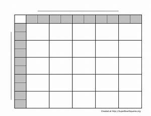 how to play football squares With free printable football squares template
