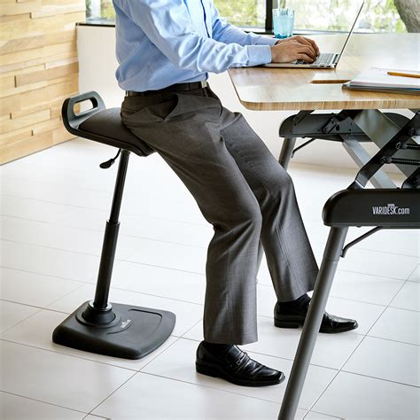 standing desk chair standing desk office chair varichair varidesk 174 chairs