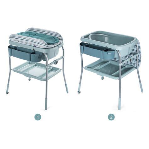 siege bebe chicco table à langer avec la baignoire cuddle comfort