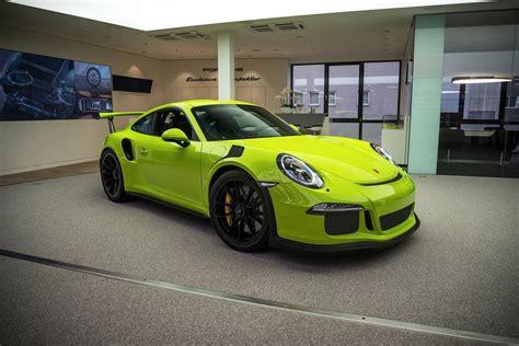 Porsche Gt3 Rs Green by Green 991 Gt3 Rs Search Porsche Porsche 991