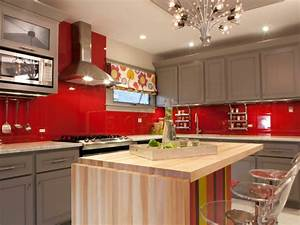 Rouge Brique Avec Quelle Couleur : cuisine rouge et grise 25 belles id es d 39 inspiration ~ Melissatoandfro.com Idées de Décoration