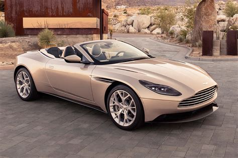Aston Matin Car : Aston Martin Db11 Volante Open For Business