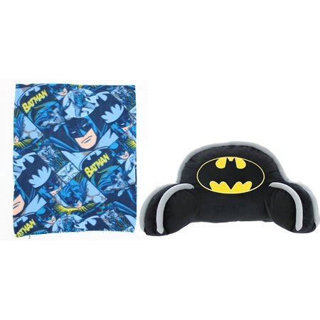 batman pillow pet batman bed rest pillow throw set walmart