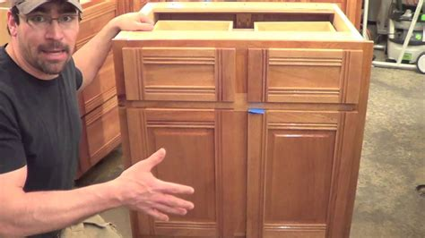 kitchen cabinet builders building kitchen cabinets part 18 starting the wall 2381