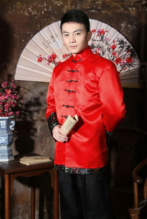 dresses 2018 new year cheongsam style thick warm new wedding dress for men buscar con