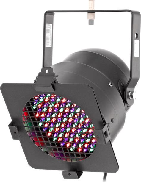stairville led par 56 black 151 leds rgb thomann uk