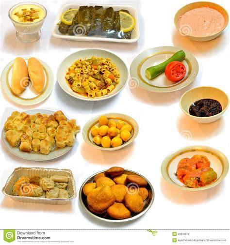 cuisine arabe 4 diner la nourriture de l 39 arabe de cuisine images stock
