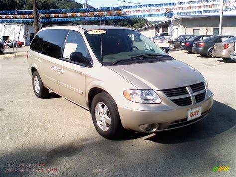 dodge grand caravan sxt  linen gold metallic   american automobiles buy