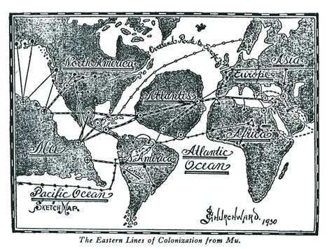 James Churchward And His Lost Pacific Continent