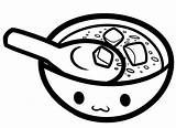 Soup Coloring Pages Bowl Colouring Drawing Pot Printable Miso Results Getdrawings Getcolorings Kidsuki sketch template