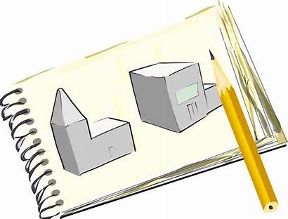 Pad Sketch Clipart Clip Sketchpad Sketches Street