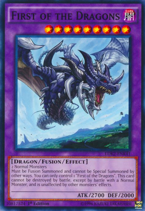 yugioh monsters level yu dragon gi oh fusion dragons monster normal card summoned ldk2 cards type genesis wyrm special 1st