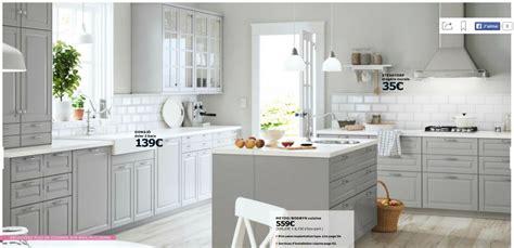 ikea table cuisine blanche cuisine cuisine grise et blanche ikea chaios cuisine