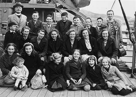Boat Mechanic Florence Al by Evacuees To New Zealand Description Children S Overseas