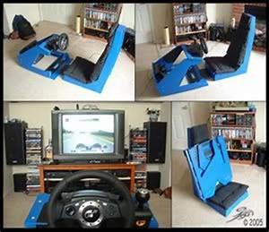 Simulateur Auto Ps4 : diy racing rig blog by cheshyrkat ign cockpit pinterest racing rigs and album ~ Farleysfitness.com Idées de Décoration